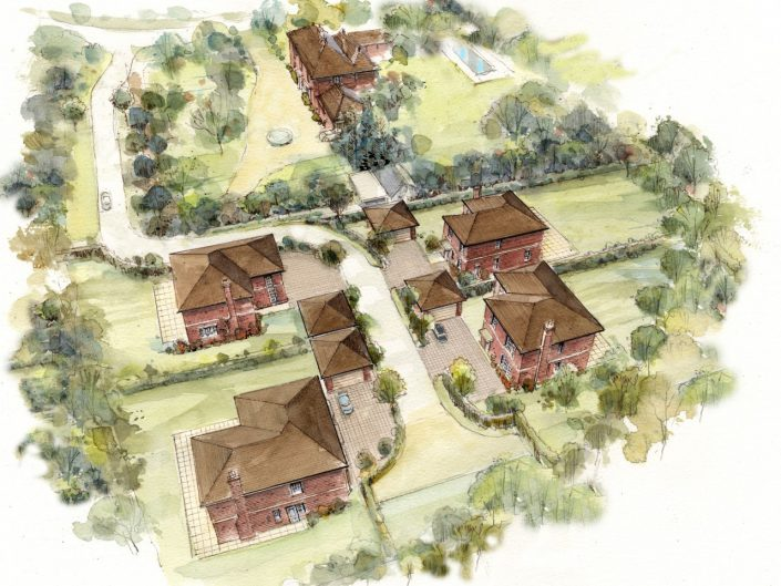 Planning Permission – Four New Dwellings